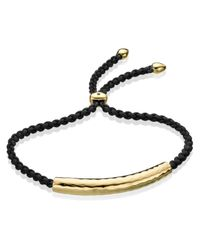 Monica Vinader - Metallic Esencia Friendship Bracelet - Lyst