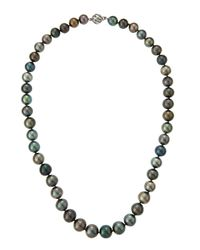Belpearl | Multicolor Tahitian Pearl Strand Necklace | Lyst