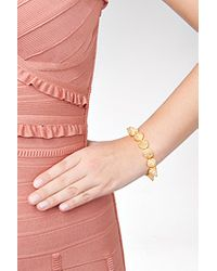 Eddie Borgo | Metallic Gold Crystal Encrusted Pave Cone Crystal Bracelet - Gold | Lyst