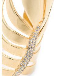 Eddie Borgo | Metallic 'frond' Ring | Lyst