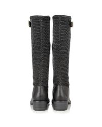 Lotus - Black Nuttall Leather Knee High Boots - Lyst
