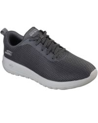 Skechers - Gray Gowalk Max Effort Mens Lace-up Trainer for Men - Lyst