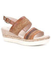 Pikolinos - Multicolor Mila Womens Wedge Heel Sandals - Lyst