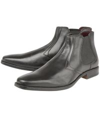 Lotus | Black Stedman Mens Chelsea Boots for Men | Lyst