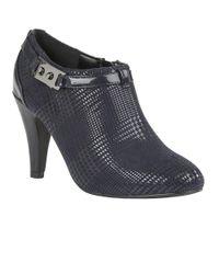 Lotus - Blue Steepie Womens High Cut Court Shoes - Lyst