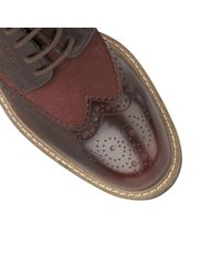 Lotus | Brown Castell Mens Casual Wingtip Brogues for Men | Lyst