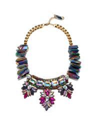 Suzanna Dai | Cuzco Statement Necklace, Purple/multi | Lyst