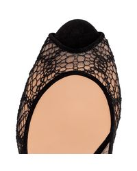 Christian Louboutin - Black Very Lace - Lyst