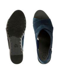 Clarks - Blue Caddell Petal - Lyst