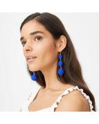 Club Monaco - Blue Bauble Solid Earring - Lyst