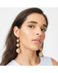 Club Monaco - Metallic Bauble Gold-tone Earring - Lyst