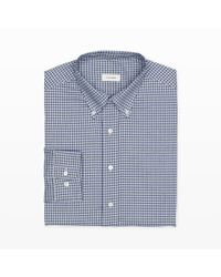 Club Monaco - Blue Made In The Usa Dress Shirt for Men - Lyst