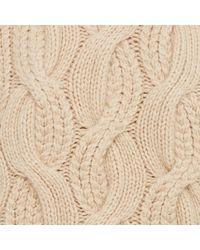 Club Monaco - Natural Idris Cashmere Cable-knit - Lyst