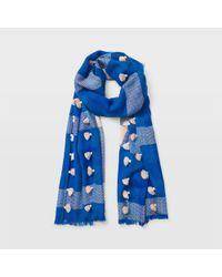 Club Monaco - Blue Jarne Scarf - Lyst