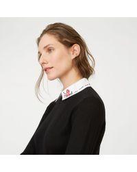 Club Monaco - Black Rufalina Sweater - Lyst
