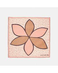 COACH - Multicolor Marguerite Patchwork Oversized Square - Lyst