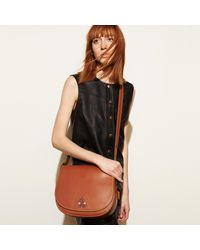 COACH - Multicolor Mickey Saddle Bag In Glovetanned Leather - Lyst