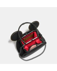 COACH - Multicolor Mickey Kisslock Bag In Glovetanned Leather - Lyst
