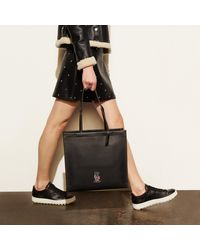 COACH - Multicolor Mickey Skinny Tote In Glovetanned Leather - Lyst