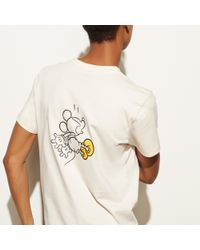 COACH - Multicolor Mickey T-shirt for Men - Lyst
