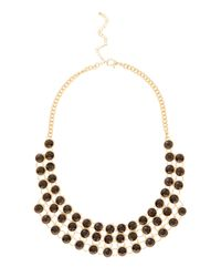 Coast - Metallic Tiana Double Sided Necklace - Lyst