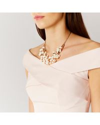 Coast | Metallic Naxos Pearl Necklace | Lyst
