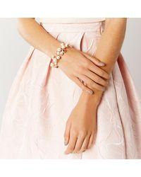Coast | Metallic Naxos Pearl Bracelet | Lyst