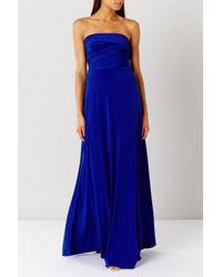 Coast | Blue Corwin Multi Tie Dress | Lyst