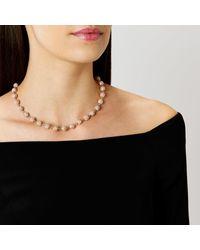 Coast | Metallic Elva Sparkle Ball Necklace | Lyst