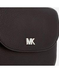 MICHAEL Michael Kors - Black Women's Half Dome Cross Body Bag - Lyst