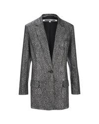 McQ | Gray Women's Sequin Blazer | Lyst