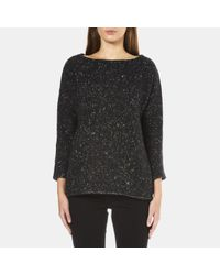 BOSS Orange | Black Women's Widianna Speckled Jumper | Lyst