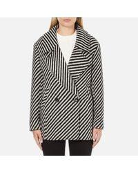 Maison Scotch | Multicolor Women's Boxy Fit Short Wool Jacket | Lyst