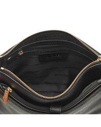 MICHAEL Michael Kors | Black Women's Mercer Large Snap Pocket Cross Body Bag | Lyst