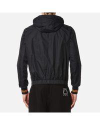 McQ - Black Men's Hooded Blouson Jacket for Men - Lyst