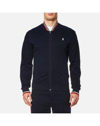 Polo Ralph Lauren | Blue Men's Sport Bomber Jacket for Men | Lyst