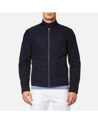Polo Ralph Lauren | Blue Men's Harrington Jacket for Men | Lyst