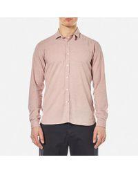 Oliver Spencer | Pink Men's Clerkenwell Tab Shirt for Men | Lyst