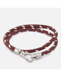 Tod's - Red Men's Scooby Trek Bracelet for Men - Lyst