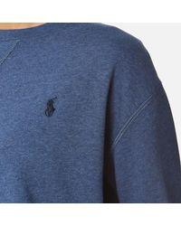 Ralph Lauren - Blue Women's Crew Neck Sweatshirt - Lyst
