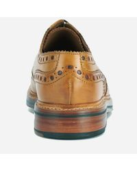 GRENSON - Brown Men's Archie Leather Brogues for Men - Lyst