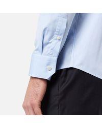 Eton of Sweden - Blue Men's Slim Fit Cut Away Collar Single Cuff Shirt for Men - Lyst