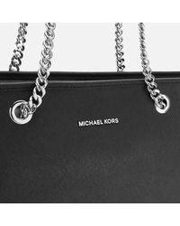 MICHAEL Michael Kors - Multicolor Jet Set Travel Chain Top Zip Tote Bag - Lyst