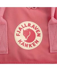 Fjallraven - Pink Kanken Backpack for Men - Lyst