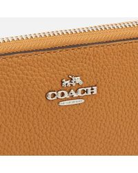 COACH - Brown Women's Accordion Zip Purse - Lyst