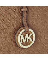 MICHAEL Michael Kors - Brown Women's Jet Set Travel Tote - Lyst