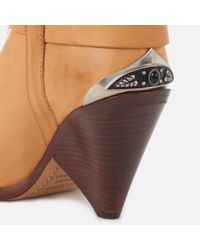 Isabel Marant - Natural Lamsy Leather Boots - Lyst