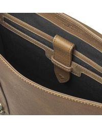 Aspinal - Brown Men's Small Shadow Messenger Bag for Men - Lyst