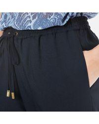 MICHAEL Michael Kors - Blue Women's Pull On Slim Pants - Lyst