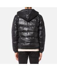 Fila - Blackline Men's Owen Hooded Puffa Jacket for Men - Lyst